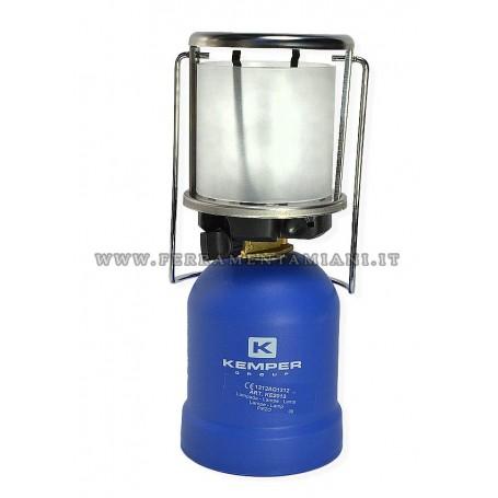 LAMPADA A GAS KEMPER ACCENSIONE A PIEZO ART. KE201
