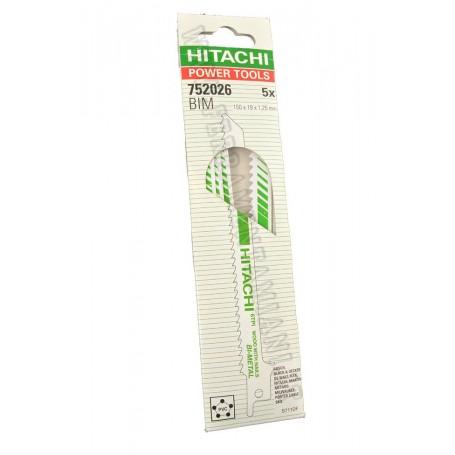 LAME PER SEGA A GATTUCCIO HITACHI POWER TOOLS ART. 752026