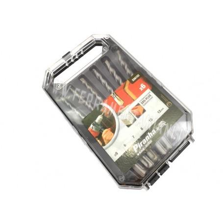 SET DI 6 PUNTE DA TRAPANO PER MURO SDS PLUS BLACK & DECKER X56102