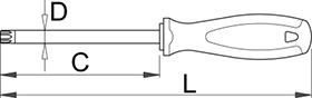 cacciavite torx unior